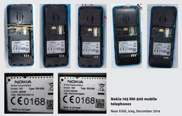 """""""Cục gạch"""" Nokia 105 bị IS dùng vào việc giết người - 3"""