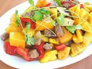 Ẩm thực - 15 phút vào bếp với món thịt bò xào dứa thơm ngọt