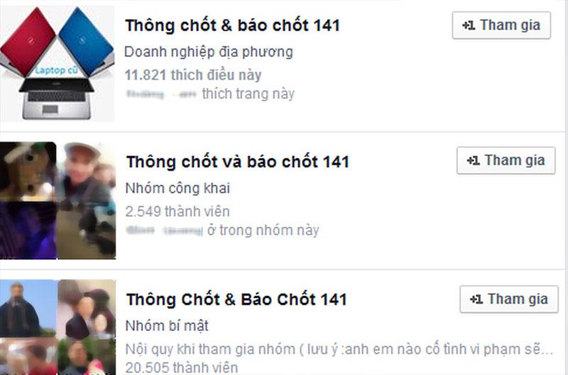 """Xử lý hàng loạt đối tượng """"chỉ điểm"""" 141 trên facebook_xb - 1"""