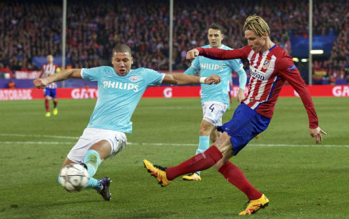 Video Atletico Madrid vs PSV - 1