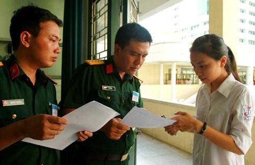 Chỉ tiêu tuyển sinh vào 21 trường quân đội năm 2016 - 1