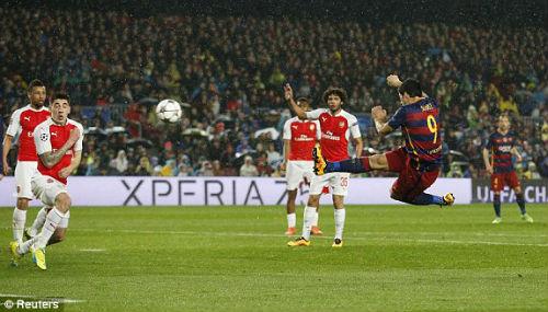 Video Barca vs Arsenal - 1