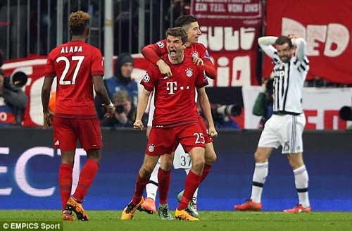 """Bayern – Juventus: Trở về từ """"địa ngục"""" - 1"""