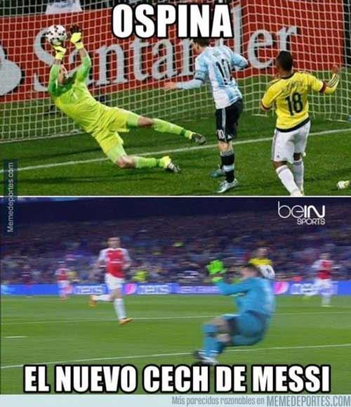 Ảnh chế: Một mình Messi chấp 60 năm lịch sử Arsenal - 5