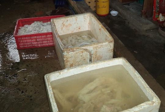 Ớn lạnh thịt trâu bò tẩy ướp hóa chất - 1