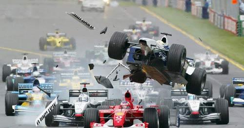 F1, ký ức Australian GP: Vụ tai nạn kinh hoàng - 1