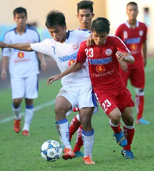 """Tuyển thủ U23 Việt Nam """"bất lực"""" ở giải U19 Quốc gia - 1"""