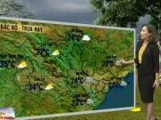 Tin tức trong ngày - Dự báo thời tiết VTV ngày 17/3