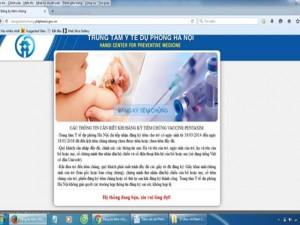Tin tức trong ngày - Đăng kí tiêm vắc xin Pentaxim: Lại điệp khúc nghẽn mạng