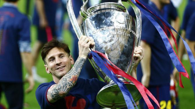 """Champions League: Messi là """"Vua"""", là duy nhất - 1"""