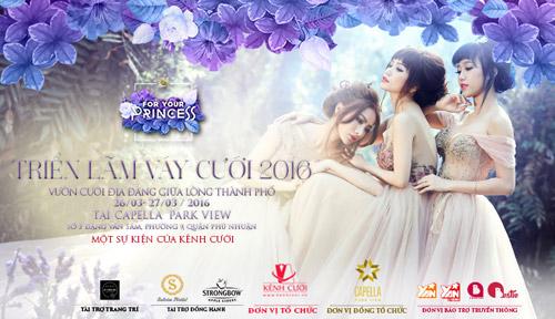 Bạn trẻ đừng bỏ lỡ triển lãm cưới For Your Princess 2016! - 4