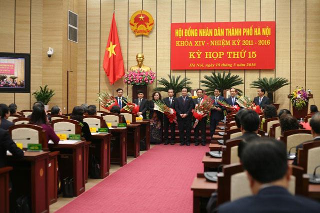 Hà Nội có 3 Phó chủ tịch Thành phố mới - 1