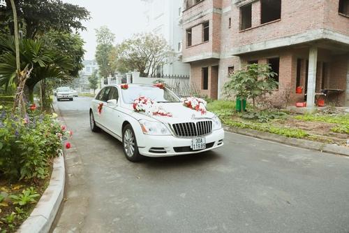 Nam Cường rước dâu ở Hà Nội bằng siêu xe 20 tỷ - 1