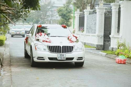 Nam Cường rước dâu ở Hà Nội bằng siêu xe 20 tỷ - 2
