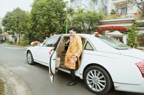 Nam Cường rước dâu ở Hà Nội bằng siêu xe 20 tỷ - 3