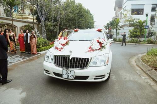 Nam Cường rước dâu ở Hà Nội bằng siêu xe 20 tỷ - 4