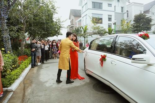 Nam Cường rước dâu ở Hà Nội bằng siêu xe 20 tỷ - 6