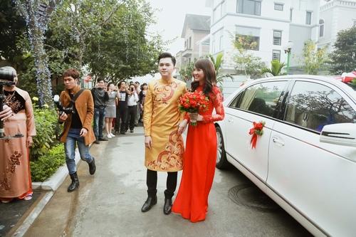Nam Cường rước dâu ở Hà Nội bằng siêu xe 20 tỷ - 7