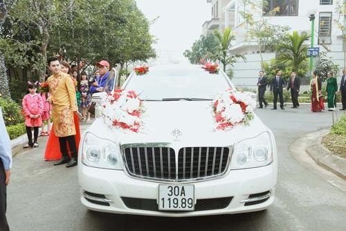 Nam Cường rước dâu ở Hà Nội bằng siêu xe 20 tỷ - 9