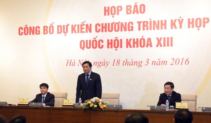 Bầu Chủ tịch nước, Thủ tướng, Chủ tịch QH đầu tháng 4 - 2