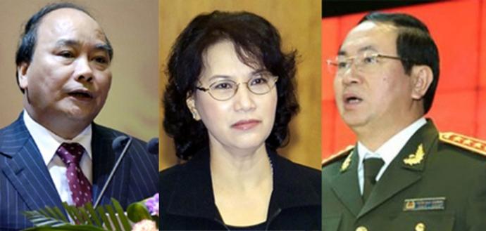 Bầu Chủ tịch nước, Thủ tướng, Chủ tịch QH đầu tháng 4 - 1