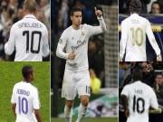 """Bóng đá - Sau Ozil, James vướng phải số 10 """"ma ám"""" tại Real"""