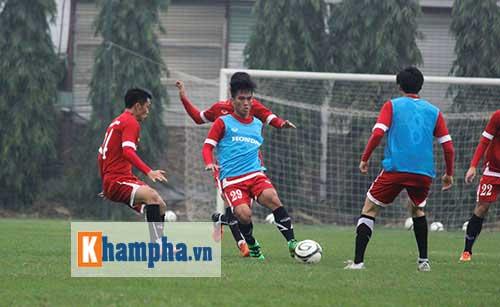 Đội tuyển VN giao hữu với Than Quảng Ninh: Giải bài toán ghi bàn - 1