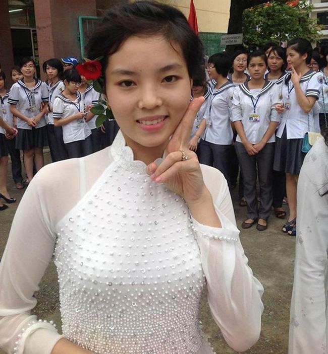 Trước khi đến với cuộc thi Hoa hậu Việt Nam 2014, Kỳ Duyên từng là cô bé mũm mĩm với cân nặng lên tới 70kg.