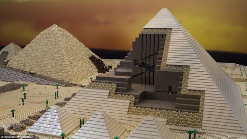Những kỳ quan nổi tiếng nhất thế giới làm từ Lego - 4
