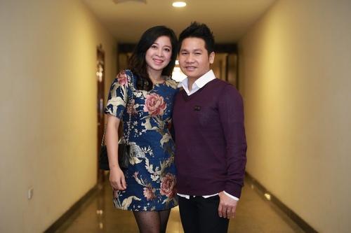 Vợ chồng Trọng Tấn tình cảm đến chúc mừng Anh Thơ - 2