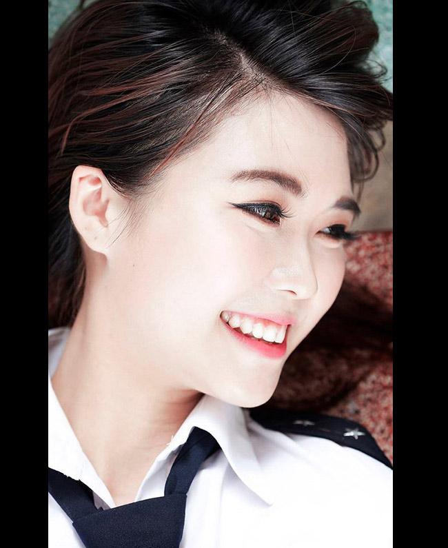Nguyễn Đặng Tường Linh (sinh năm 1994, hiện sống và học tập tại TP.HCM) là gương mặt ưu tú của trường Học viện Hàng không Việt Nam.