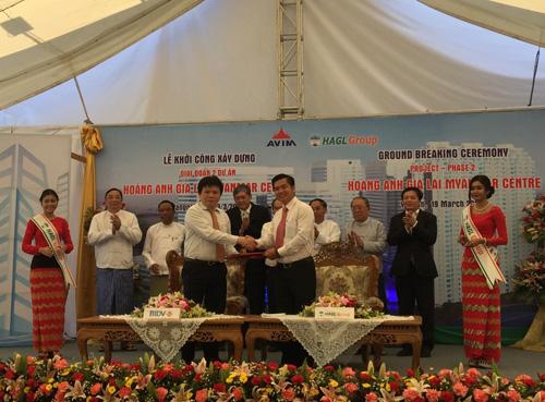 """Ngân hàng bơm vốn, bầu Đức khởi công tiếp dự án """"khủng"""" ở Myanmar - 4"""