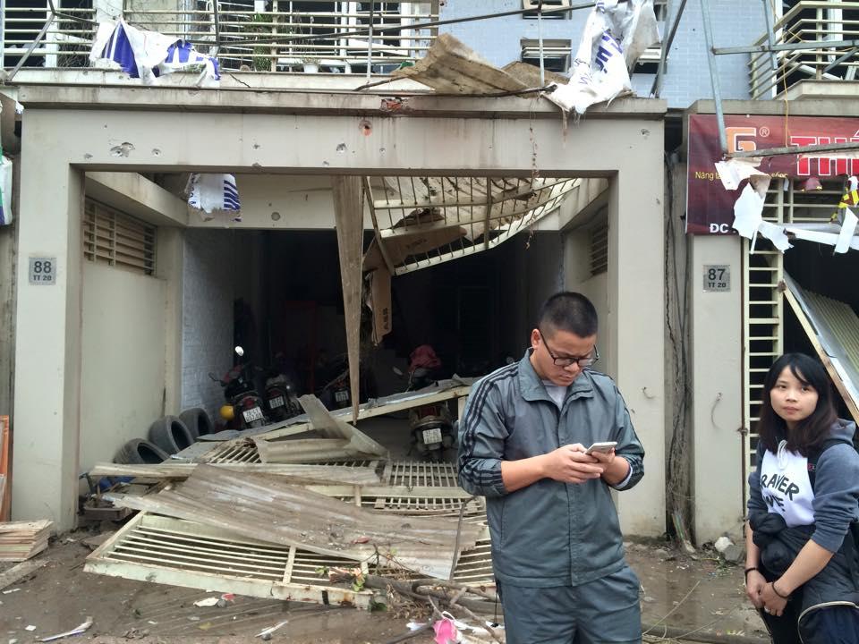Nổ lớn tại KĐT Văn Phú-Hà Đông, nhiều người thương vong - 15