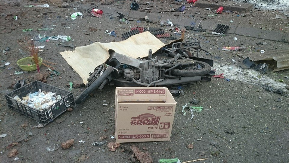 Hiện trường tan hoang sau vụ nổ khủng khiếp ở Văn Phú-Hà Đông - 4