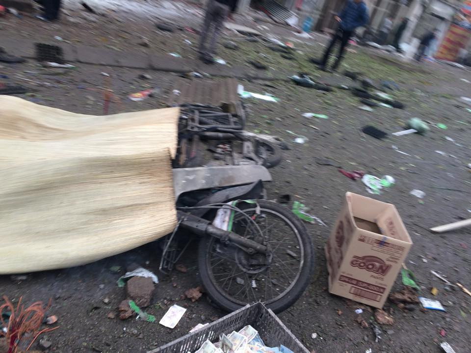 Hiện trường tan hoang sau vụ nổ khủng khiếp ở Văn Phú-Hà Đông - 3