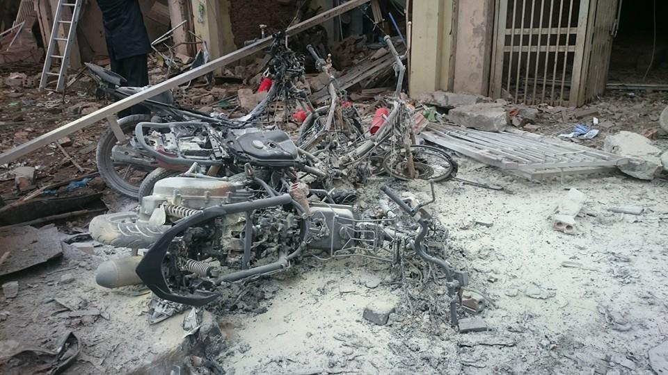 Hiện trường tan hoang sau vụ nổ khủng khiếp ở Văn Phú-Hà Đông - 7