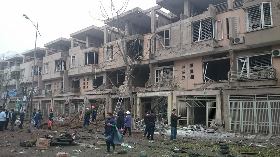 Khu đô thị Văn Phú Hà Đông Hà Nội bị nổ - 9