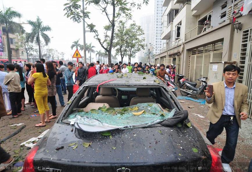 Hiện trường tan hoang sau vụ nổ khủng khiếp ở Văn Phú-Hà Đông - 15