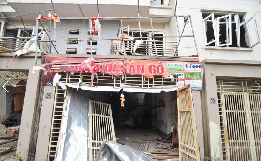Hiện trường tan hoang sau vụ nổ khủng khiếp ở Văn Phú-Hà Đông - 18