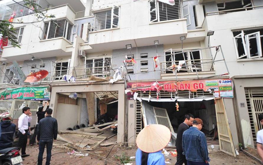 Hiện trường tan hoang sau vụ nổ khủng khiếp ở Văn Phú-Hà Đông - 19
