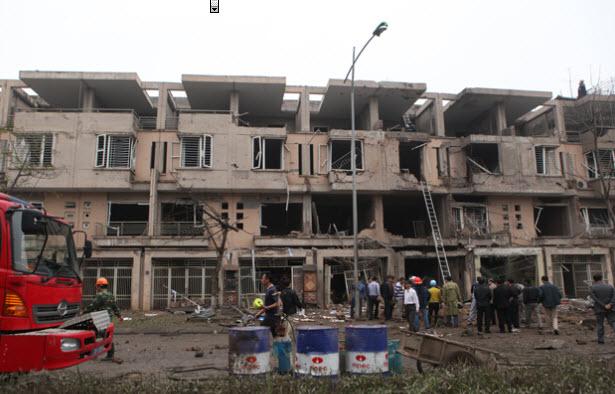 Hiện trường tan hoang sau vụ nổ khủng khiếp ở Văn Phú-Hà Đông - 10
