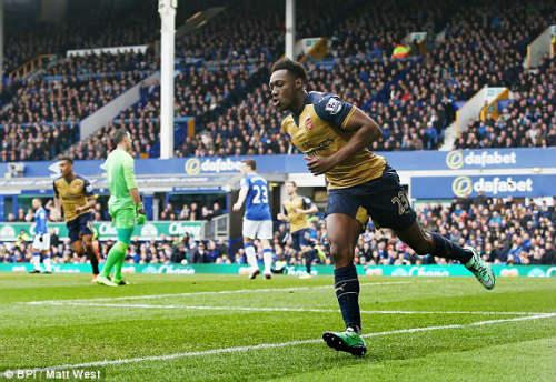 Video Everton vs Arsenal - 1
