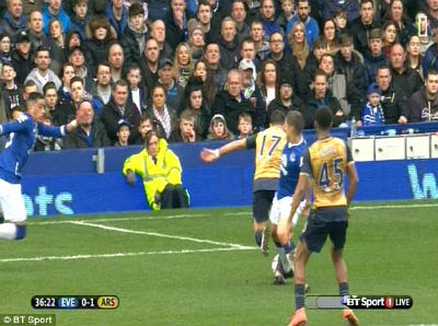 Chi tiết Everton – Arsenal: Công dã tràng (KT) - 6