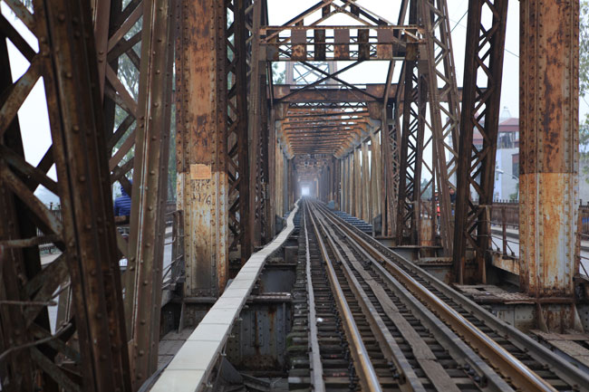 Ảnh: Cầu Long Biên sau đợt trùng tu lớn nhất lịch sử - 1