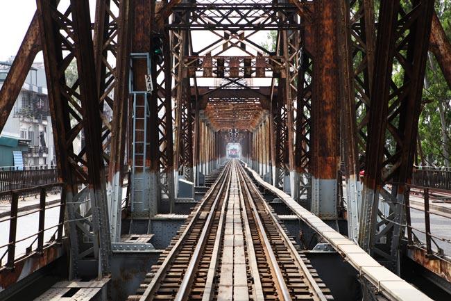 Ảnh: Cầu Long Biên sau đợt trùng tu lớn nhất lịch sử - 4