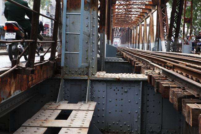Ảnh: Cầu Long Biên sau đợt trùng tu lớn nhất lịch sử - 7