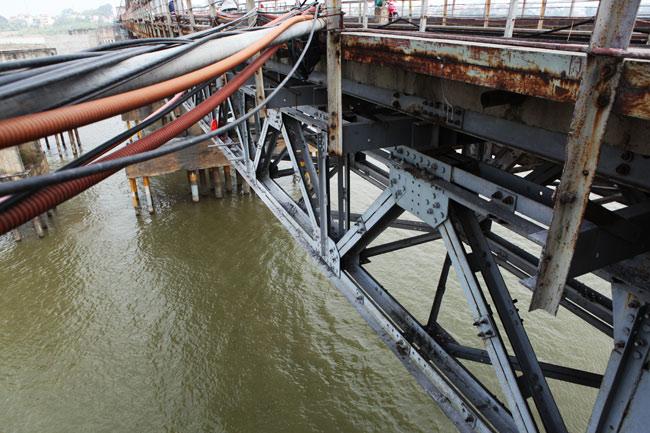 Ảnh: Cầu Long Biên sau đợt trùng tu lớn nhất lịch sử - 6