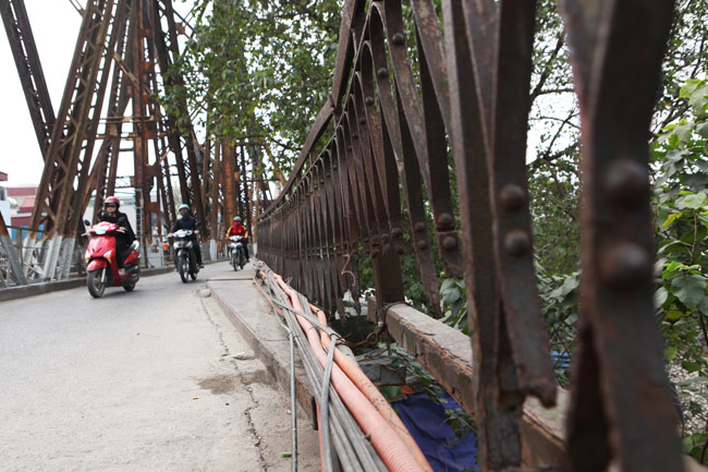 Ảnh: Cầu Long Biên sau đợt trùng tu lớn nhất lịch sử - 13
