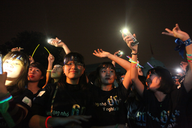 Hà Nội, Sài Gòn tắt đèn hưởng ứng Giờ trái đất 2016 - 4
