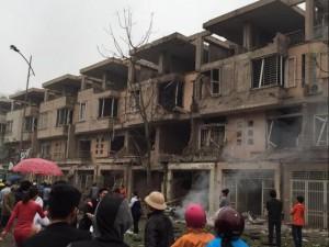 Tin tức trong ngày - Nổ lớn tại KĐT Văn Phú-Hà Đông, nhiều người thương vong